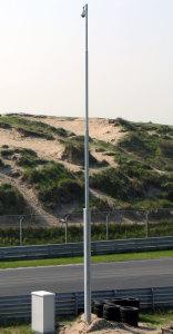 koker kantelbare cameramast zandvoort