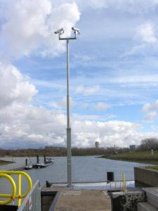 Een groot project waarbij geen enkele mast gelijk is.